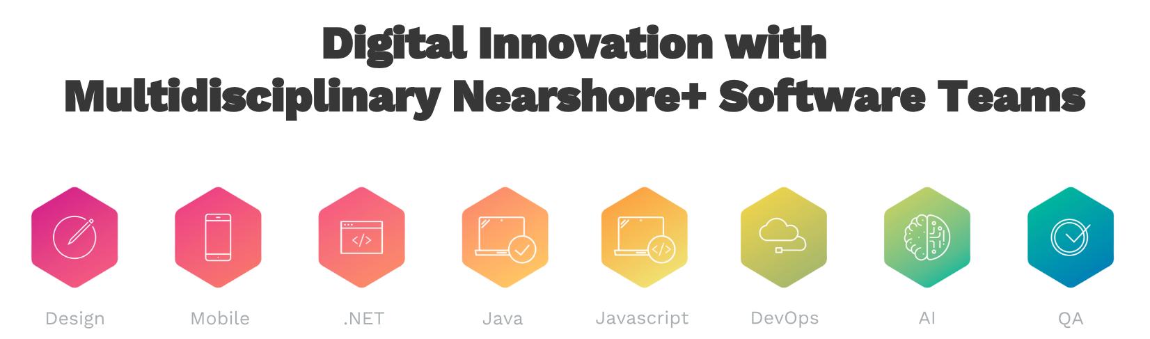 Digital Innovation with Multidisciplinary Nearshore+ Software Teams