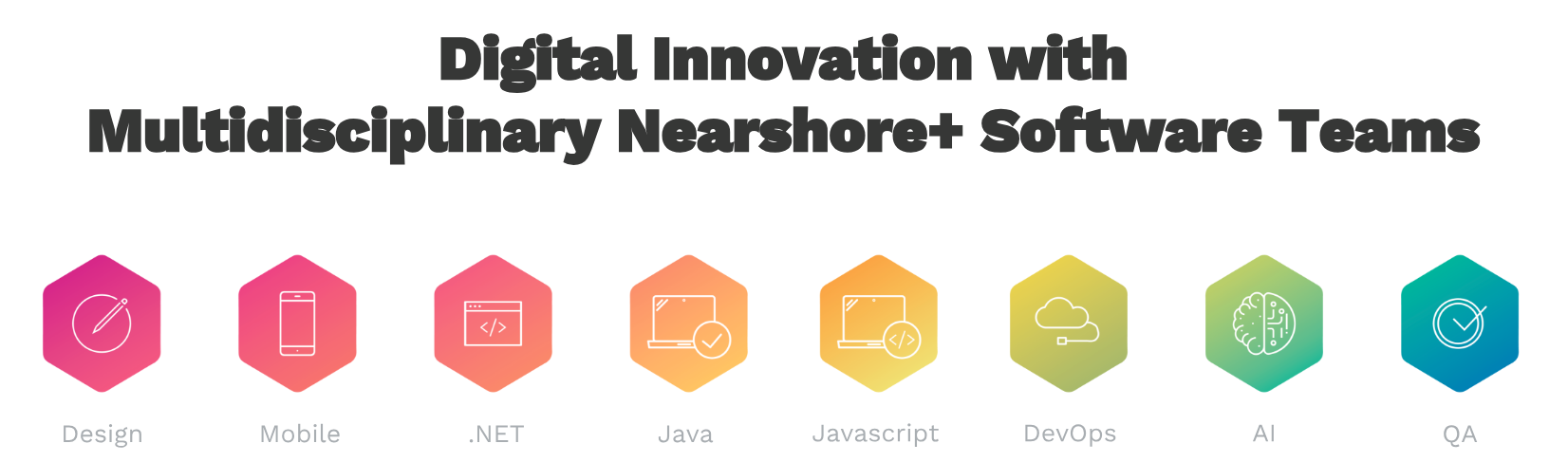 Digital Innovation with Multidisciplinary Nearshore+ Software Teams